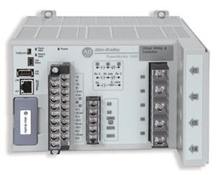 Rockwell Automation's PowerMonitor 5000 takes energy monitoring to the next level and provides the capability to monitor four voltage and four current channels for every electrical cycle. Used with Permission of Rockwell Automation, Inc.