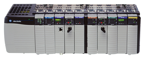 As a Rockwell Automation Recognized System Integrator, Stellar utilizes Rockwell's ControlLogix® systems PLC programmable logic controller, which provides integration between the programming software, controller, and I/O modules. Used with Permission of Rockwell Automation, Inc.