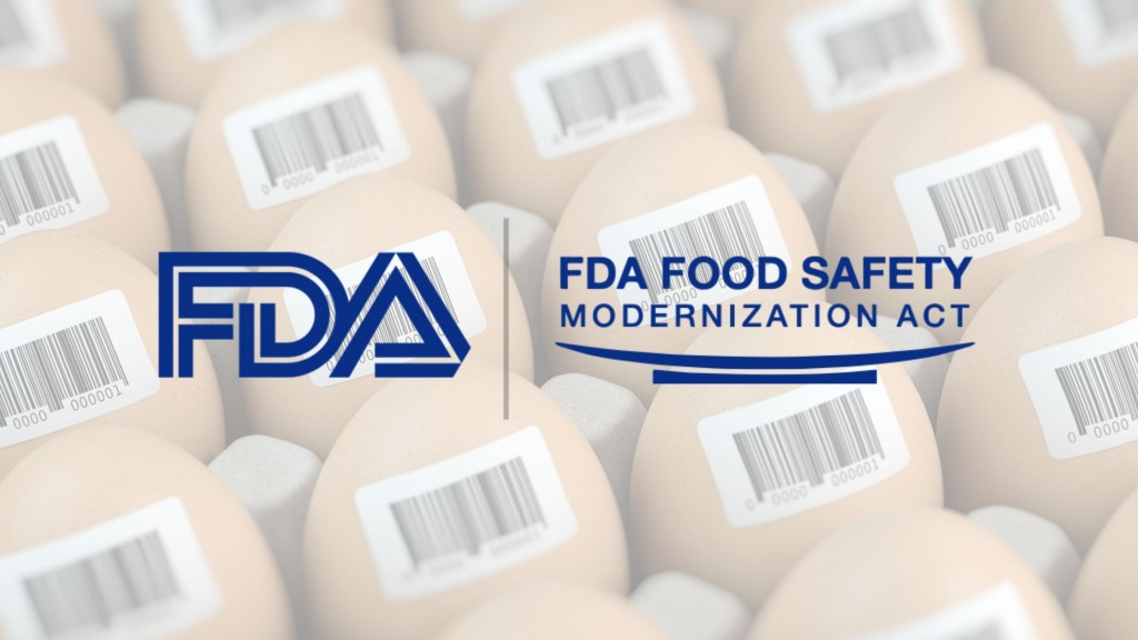 The FSMA Proposed Rule for Food Traceability (in a Nutshell)